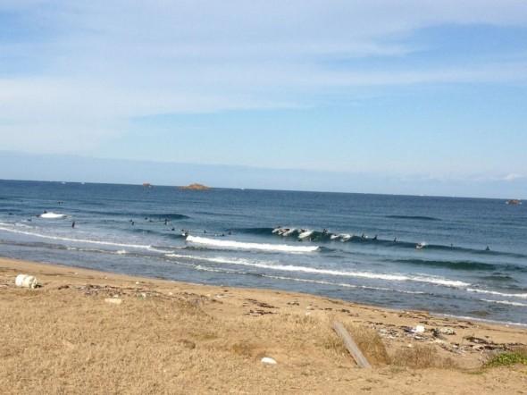 7SPLENDORの方達と日本海