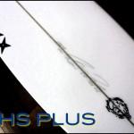 PHS PLUS|ホールドされた頭半の波