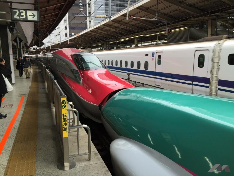 久しぶりの新幹線