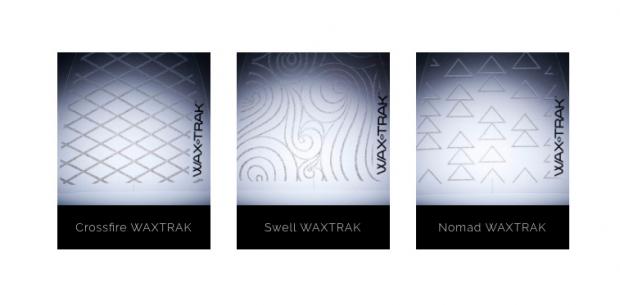 WAX TRAK デザイン