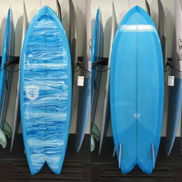 "SEA HAWK 5'2"" TAKEDA CUSTOMS"