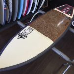 "COFFEE STAIN FUTUREFLEX 5'7"" ACSOD"