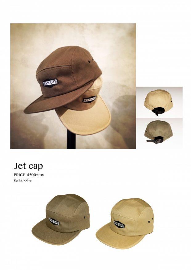 GARAGE JET CAP